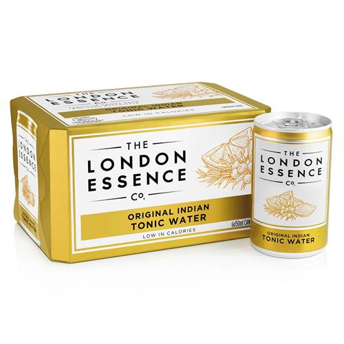 London Essence Original Indian Tonic Water Cans 6 x 150ml Image 1
