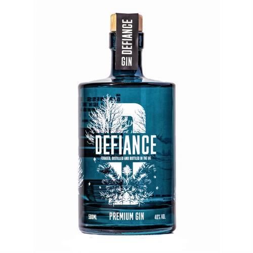 Defiance Premium Gin 50cl Image 1