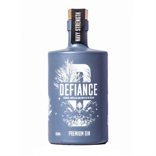 Defiance Navy Strength Gin 50cl Image 1