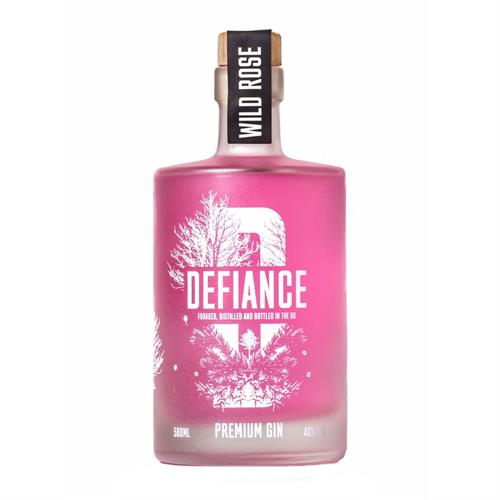 Defiance Wild Rose Gin 50cl Image 1