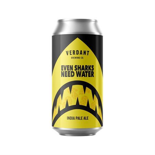 Verdant Even Sharks Need Water 6.5% IPA 440ml Image 1