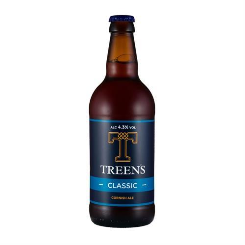 Treens Classic Cornish Ale 500ml Image 1