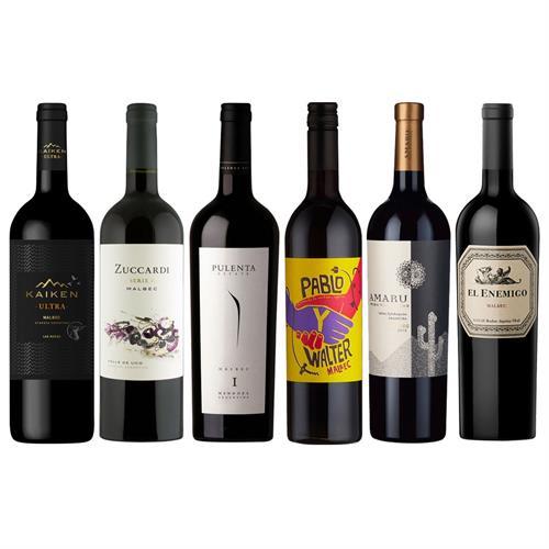 Argentinian Malbec Mixed Wine Case Thumbnail Image 6