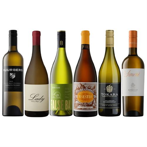 South African White Mixed Wine Case Thumbnail Image 0