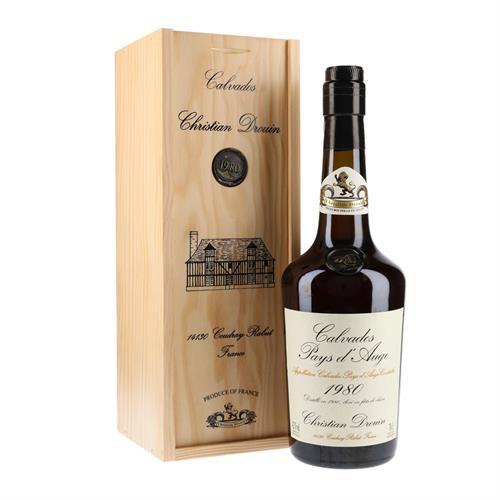 Christian Drouin 1980 Calvados 42% 70cl Image 1