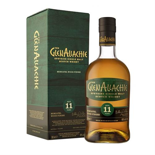 GlenAllachie 11 Years Old Moscatel Wood Finish 48% 70cl Image 1