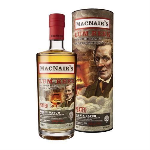 MacNair's Lum Reek Blended Malt Whisky 46% 70cl Image 1