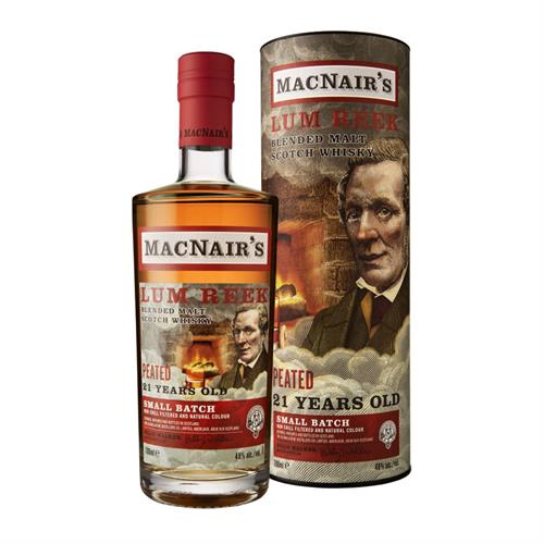 MacNair's 21 Year Old Blended Malt Scotch Whisky 70cl Image 1