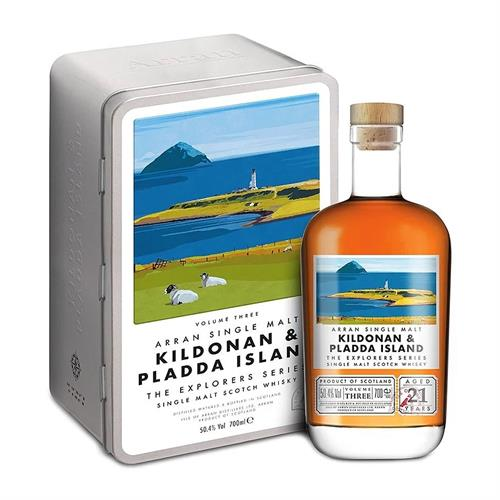 Arran Kildonan & Island Pladda The Explorers Series Volume 3 70cl Image 1