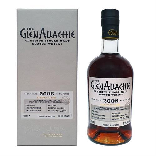 GlenAllachie 2006 Cask #6601 Spirit of Speyside Whisky Festival 2020 70cl Image 1