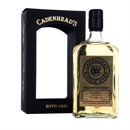 Cambus 26 years old Cadenheads Single Cask 70cl Image 1