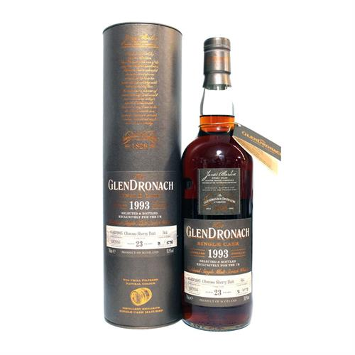 Glendronach 1993 23 years old Oloroso Sherry Butt 58.9% 70cl Image 1