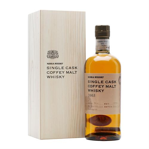 Nikka Single Cask Coffey Malt 2003 58% 70cl Image 1