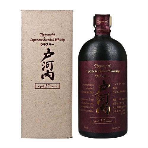 Togouchi 12 years old Blended Whisky 40% 70cl Image 1