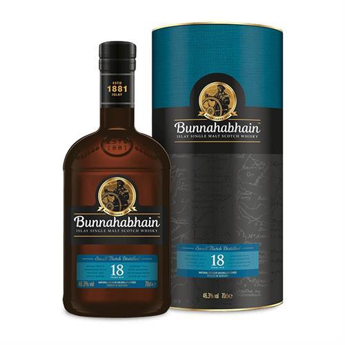 Bunnahabhain 18 Year Old 70cl Image 1