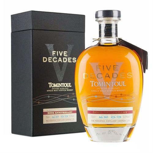 Tomintoul Five Decades 50th Anniversary 70cl Image 1