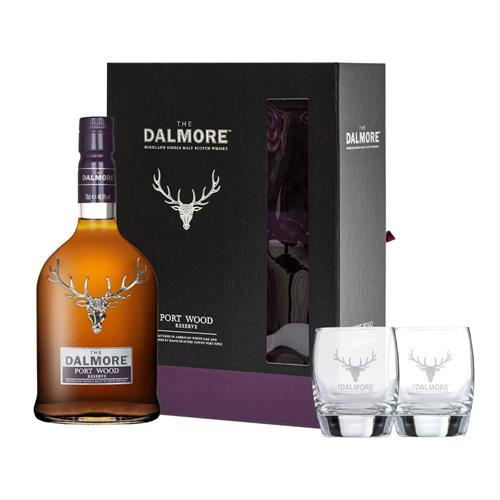 Dalmore Port Wood Reserve 70cl Glass Pack Image 1