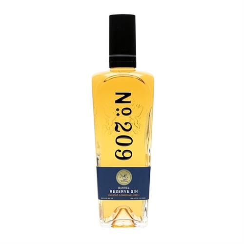 No.209 Chardonnay Barrel Reserve Gin 70cl Image 1