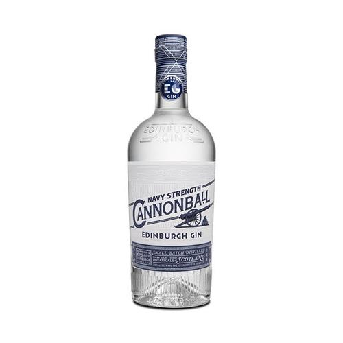 Edinburgh Cannonball Navy Strength Gin 70cl Image 1