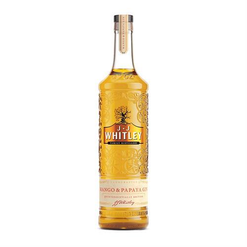 JJ Whitley Mango & Papaya Gin 70cl Image 1