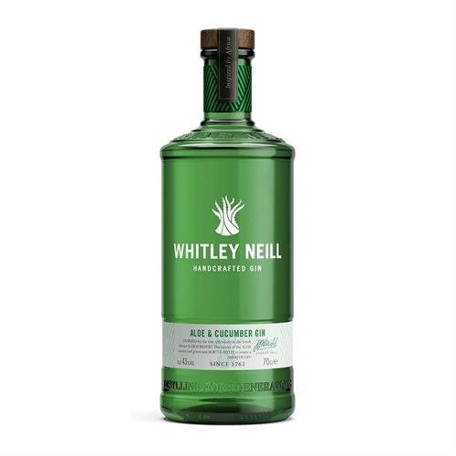 Whitley Neill Aloe & Cucumber Gin 70cl Image 1