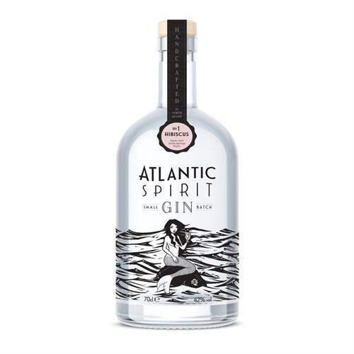 Atlantic Spirit #1 Hibiscus Gin 70cl Image 1
