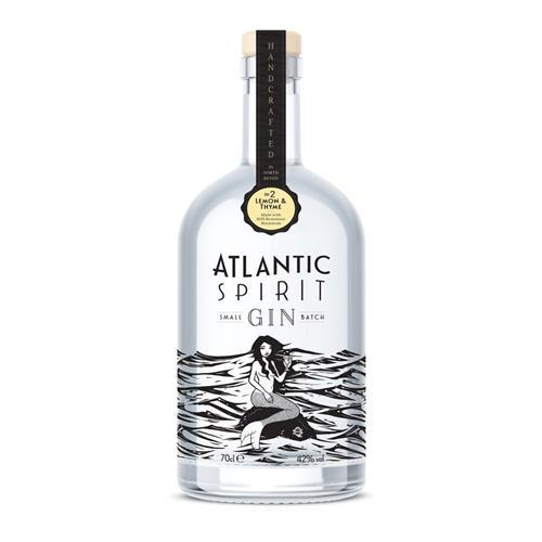 Atlantic Spirit #2 Lemon & Thyme Gin 70cl Image 1