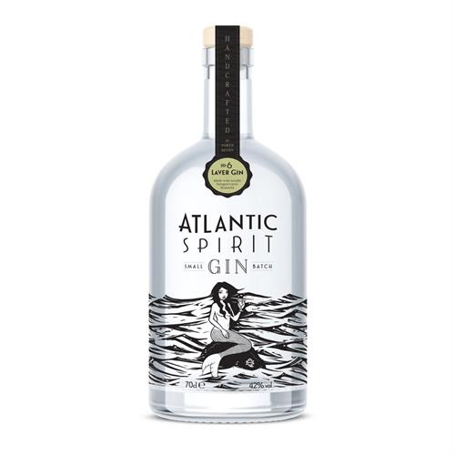 Atlantic Spirit #6 Laver Gin 70cl Image 1