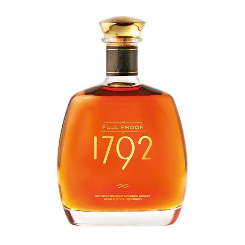 1792 Full Proof Bourbon Whiskey 75cl Image 1