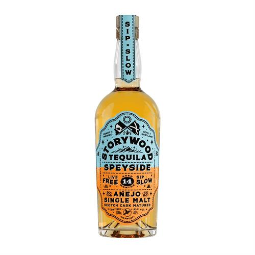 Storywood Tequila Speyside Anejo 70cl Image 1