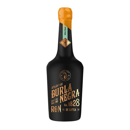 Burla Negra Black Salted Rum 70cl Image 1
