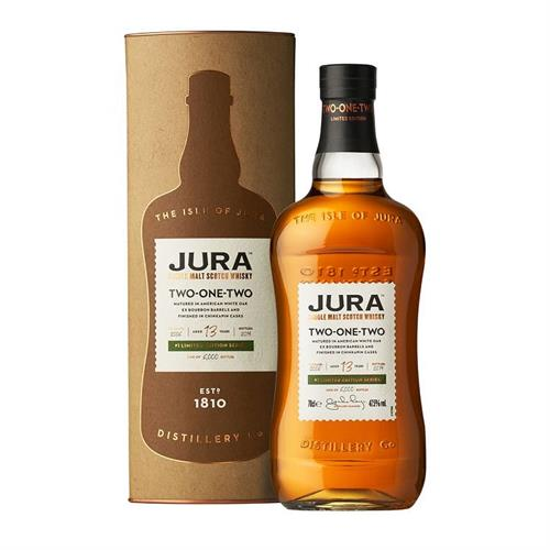 Jura Two-One-Two 13 Year Old Whisky 70cl Image 1