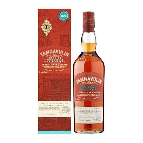 Tamnavulin Sherry Cask Edition Single Malt Whisky 70cl Image 1