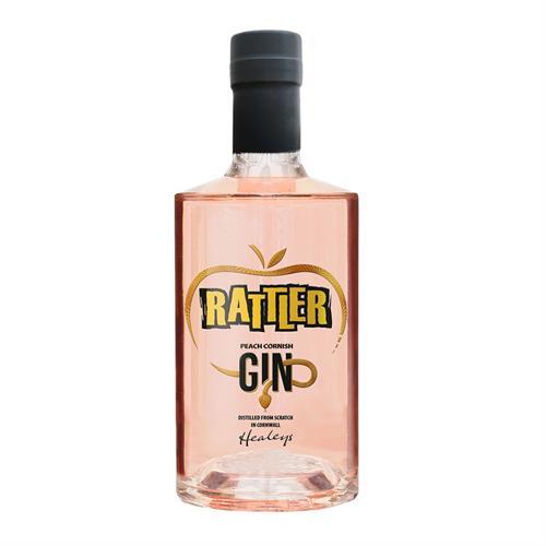 Rattler Cornish Peach Gin 70cl Image 1