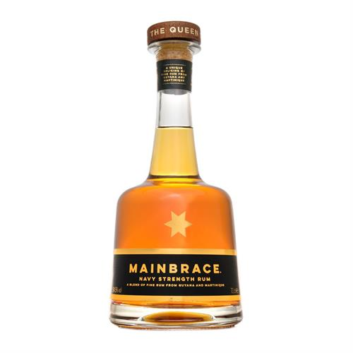 Mainbrace Limited Edition Navy Strength Rum 70cl Image 1