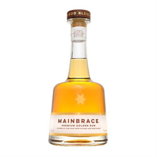 Mainbrace Premium Guyana & Martinique Rum 70cl Image 1