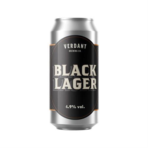 Verdant Black Lager 4.9% 440ml Image 1