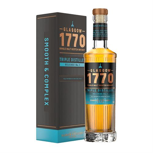 Glasgow 1770 Triple Distilled Release No.1 50cl Image 1