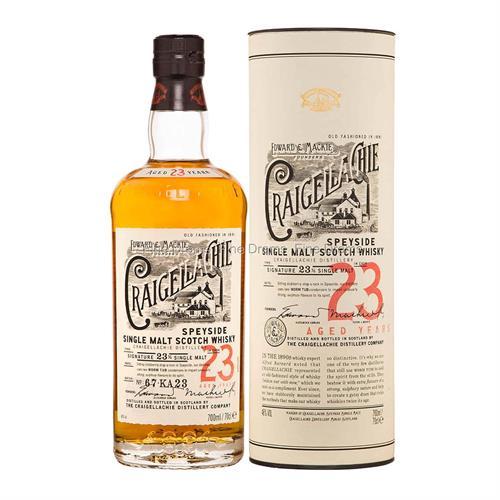 Craigellachie 23 Year Old Single Malt Scotch Whisky 70cl Image 1