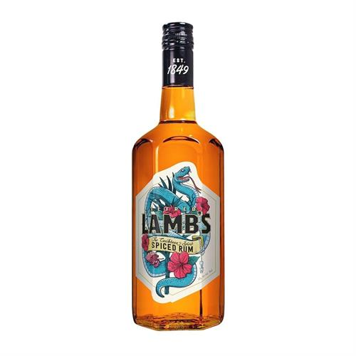 Lambs Spiced Spirit Drink 30% 70cl Image 1