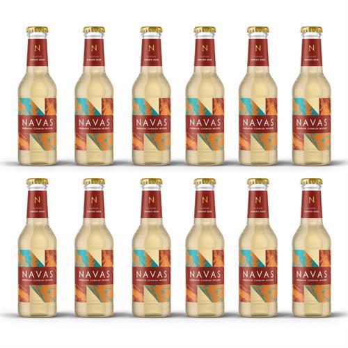 Navas Cornish Ginger Beer 200ml Case of 12 Image 1