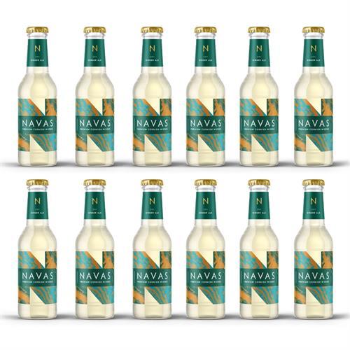 Navas Cornish Ginger Ale 200ml Case of 12 Image 1