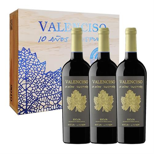 Valenciso Reserva 10 Anos Despues 75cl x 3 in Wooden Case Thumbnail Image 1
