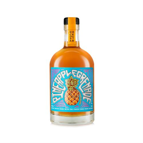 Rockstar Grapefruit Grenade Overproof Spiced Rum 65% 50cl Image 1