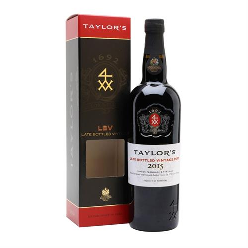 Taylors LBV Late Bottled Vintage Port 2015 75cl Image 1