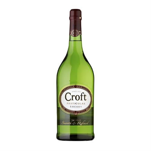 Croft Particular Pale Dry Sherry 1L Image 1
