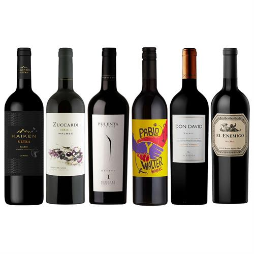 Argentinian Malbec Mixed Wine Case Thumbnail Image 5
