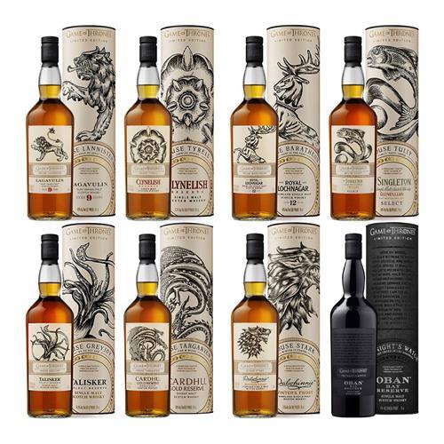 Game of Throne Set of Whiskies (8 bottles) Image 1