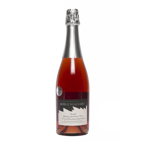 Bosue Vineyards Cornish Sparkling Rose 75cl Image 1