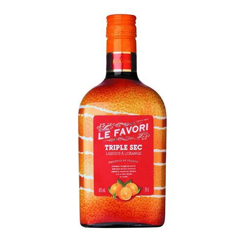 Le Favori Triple Sec Liqueur 40% 70cl Image 1